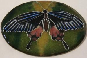 cloisonne butterfly