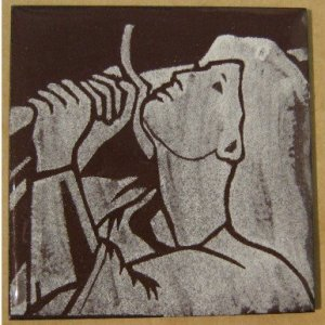 grisaille enamel Joan of Arc