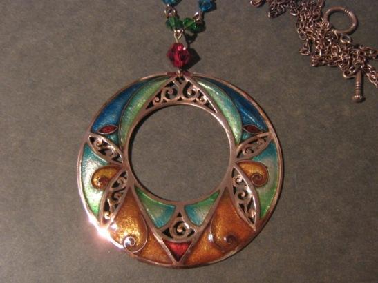 Spiral Trumpet Openwork Ring
